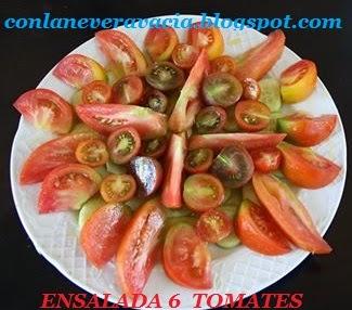 ENSALADA 6 TOMATES