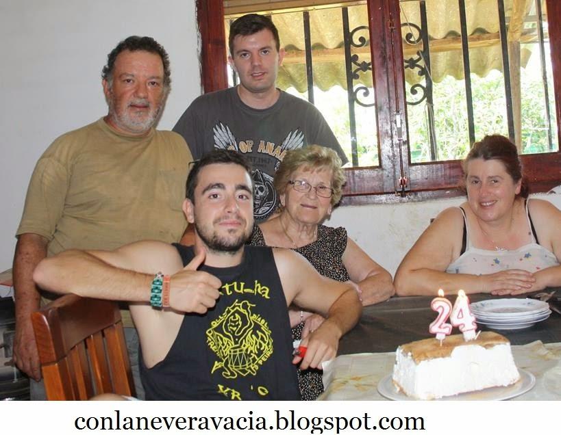 TARTA HELADA DE NATA , CHOCOLATE Y CAFÉ CON WHISKY