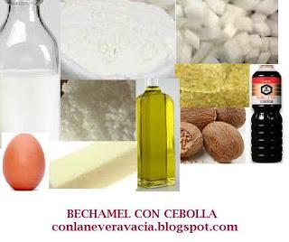 BECHAMEL CON CEBOLLA