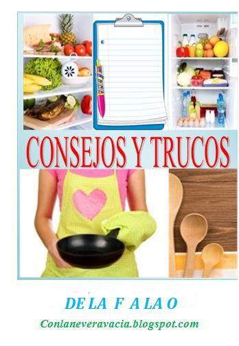 ALGUNOS CONSEJOS Y TRUCOS DE COCINA 2
