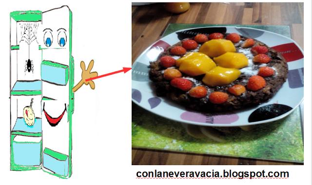 TORTILLA DE PAN CON CHOCOLATE